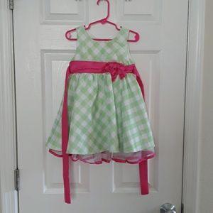 5 for $10, Jona Michelle Green dress, 2T